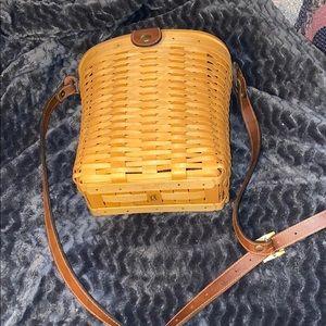 Longaberger Woodcrafts Woven Basket